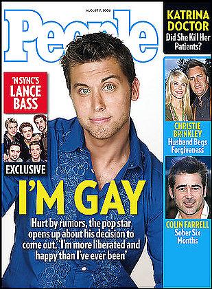 Lance Bass:gay y astronauta