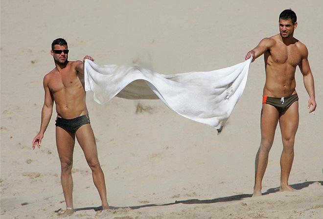 Ricky Martin con el novio Carlos Gónzalez