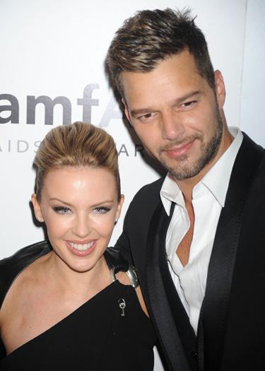 Ricky Martin y Kylie Minogue juntos contra el SIDA