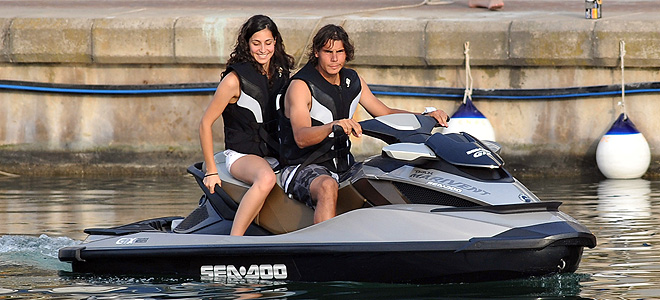 Rafa Nadal y su novia Xisca no van a estar juntos en Roland Garros 2010