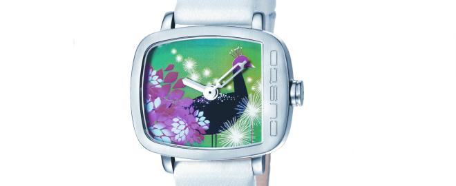 reloj de custo on time