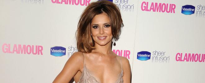 Cheryl cole en los premios glamour a las mujeres del año