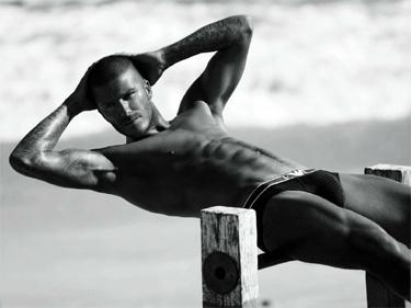 El milionario David Beckham de Armani