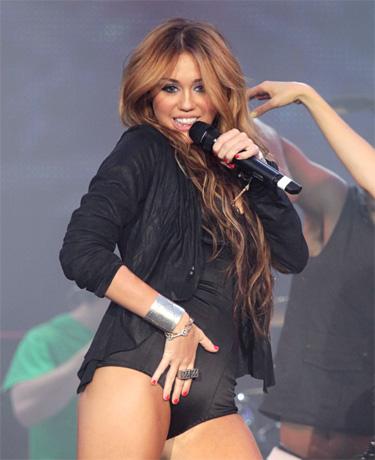 Miley Cyrus no quiere a las estrellas de 'Glee'