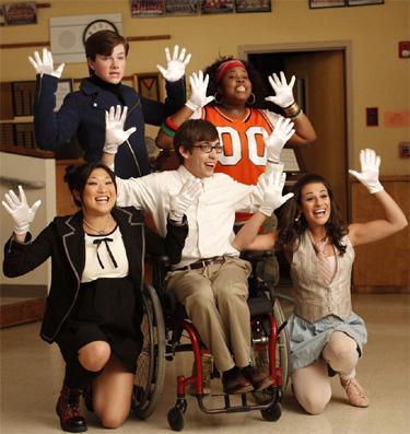 Éxitos de los discos de Glee