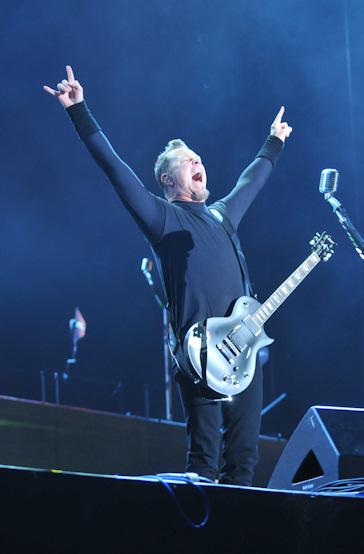 Metallica en el rock in rio madrid