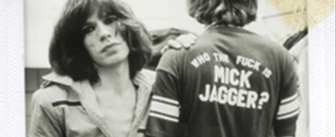 Camisetas who the fuck is mick jagger