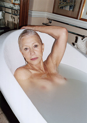 Helen mirren posa desnuda