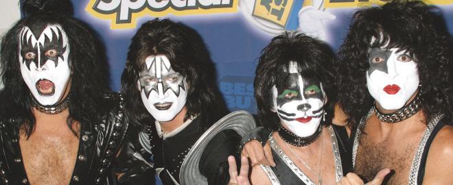 Kiss en concierto en madrid