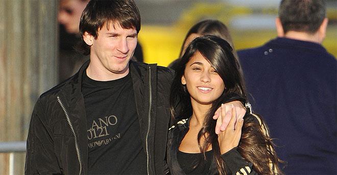 La novia de Messi, Antonella Rocuzzo, en Sudáfrica