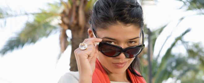Gafas de sol que se llevan en verano