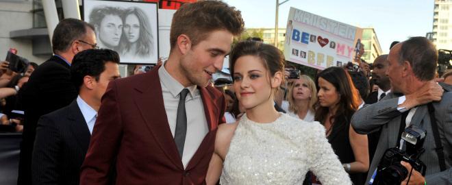 Robert Pattinson y kristen stewart en el estreno de eclipse en los angeles