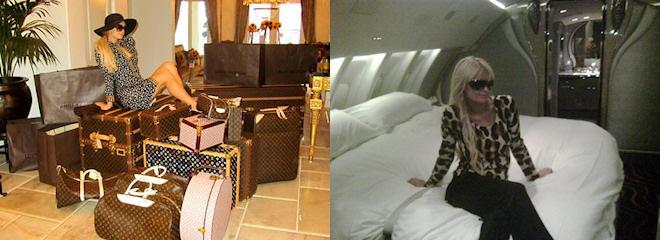 Paris Hilton, lujos rumbo al Mundial