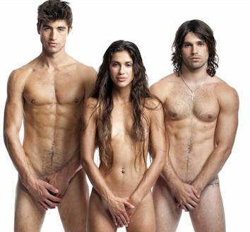 Justin gaston se desnuda para peta