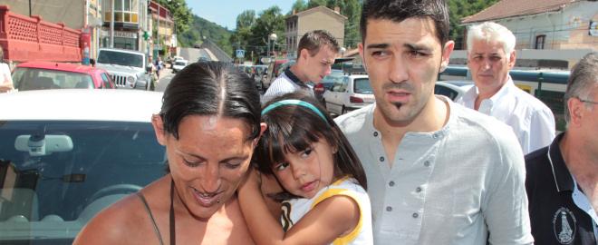 David villa regresa a Tuilla tras el mundial