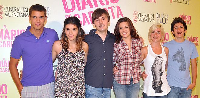 Maxi Iglesias  y 'El diario de Carlota' en la cartelera de cine