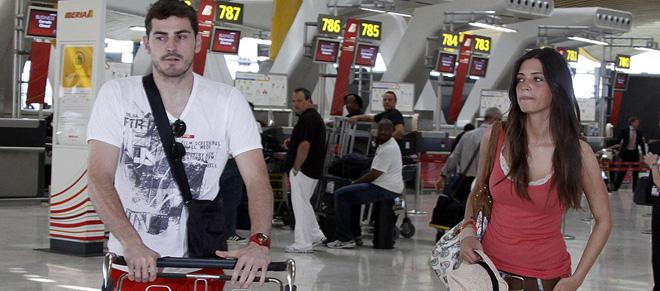 Iker Casillas y Sara Carbonero escapan en viaje vacaciones y luna de miel'