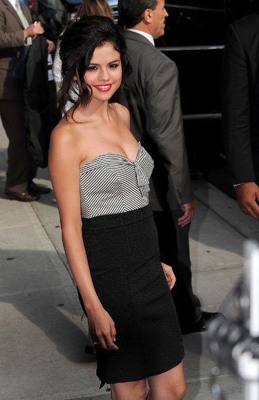 Selena Gomez celebra su 18 cumpleaños