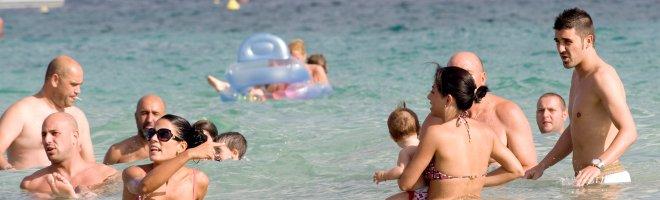 David Villa, Pepe Reina y Fernando Llorente disfrutan sus vacaciones en Ibiza