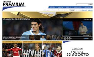 Sara Carbonero y 'Premium Calcio' de Mediaset