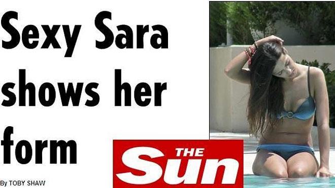 Sara Carbonero pillada con un sexy bikini en Estados Unidos
