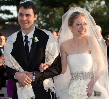 Lujosa boda de Chelsea Clinton y Marc Mezvinsky