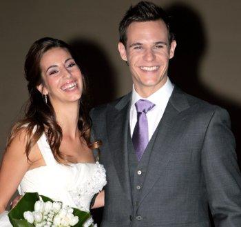 La boda de Christian Gálvez y Almudena Cid