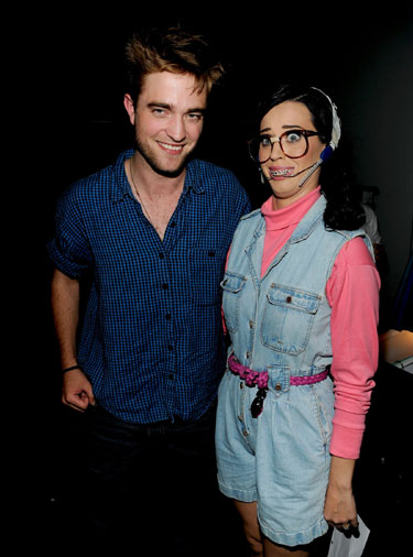 Robert Pattinson y Katy Perry los premios Teen Choice 2010