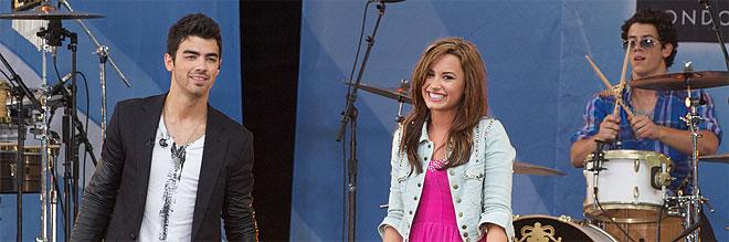 Demi Lovato y Joe Jonas juntos en Nueva York