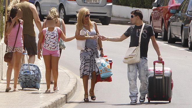 Belén Esteban de vacaciones en Benidorm