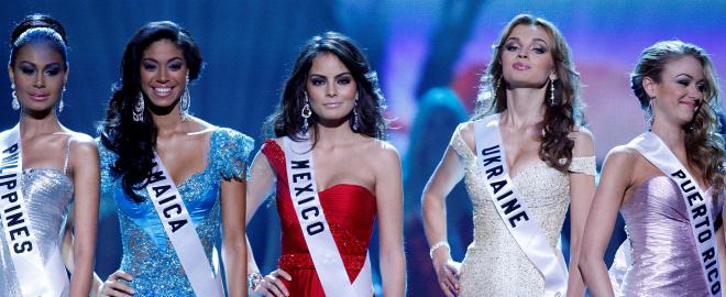 Gala miss universo 2010