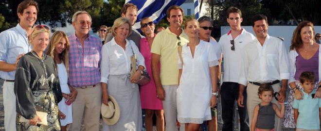 Ensayo de la boda de nicolas de grecia y tatiana blatnik