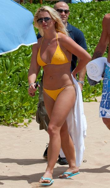 Britney spears en bikini