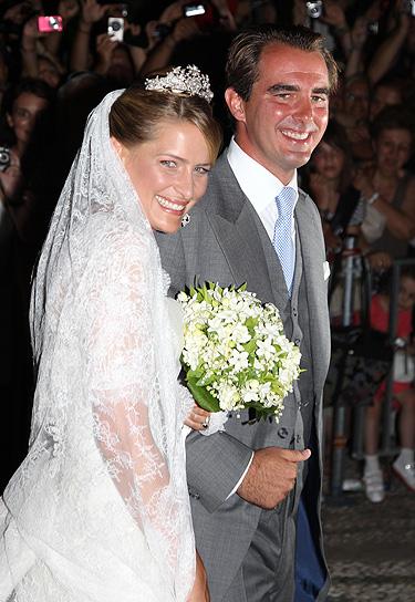 Las fotos de la boda de Nicolás de Grecia y Tatiana Blatnik
