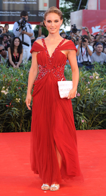 Natalie portman en el festival de venecia