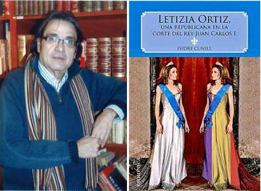 Isidre Cunill y su libro sobre Letizia Ortiz