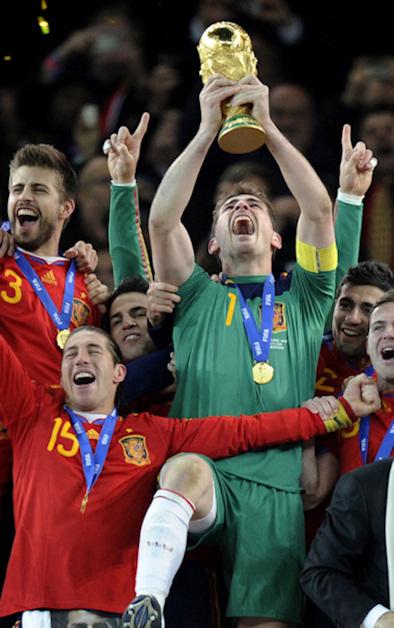 La seleccion española se lleva el principe de asturias de los deportes 2010