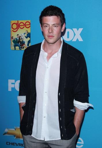 Cory monteith en el estreno de la segunda temporada de glee
