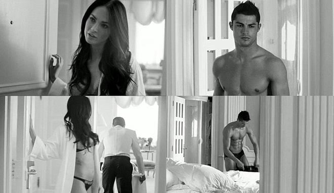 Cristiano Ronaldo y Megan Fox desnudos para Armani