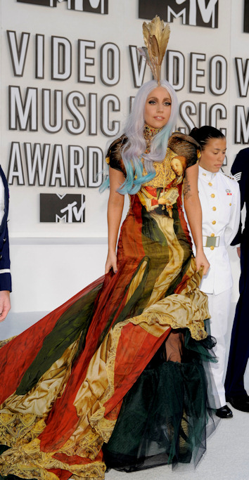 Lady gaga en los mtv video music awards