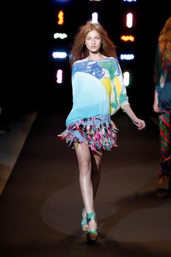 Custo barcelona en la semana de la moda de nueva york