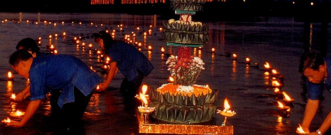 Loi krathong un festival único en tailandia