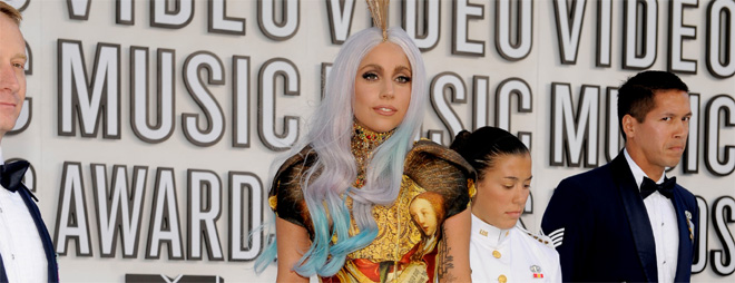 Lady Gaga en Madrid MTV Europe Music Awards 2010