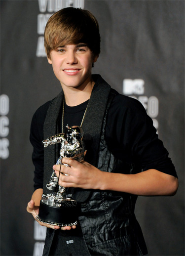 Justin Bieber en Madrid - MTV Europe Music Awards 2010