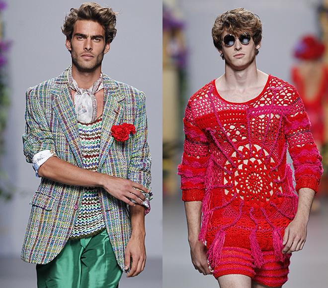 Jon Kortajarena y Nicolás Coronado en Cibeles Madrid Fashion Week