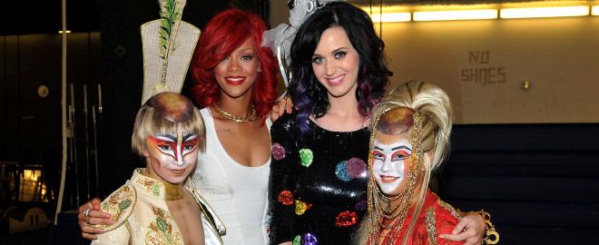 Rihanna organiza la despedida de soltera a katy perry