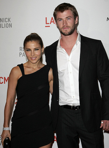 Elsa pataky y chris hemsworth juntos
