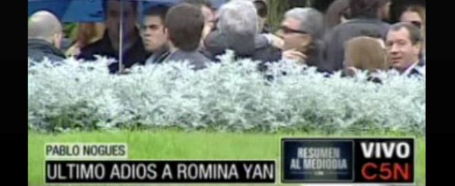 Entierro de romina yan