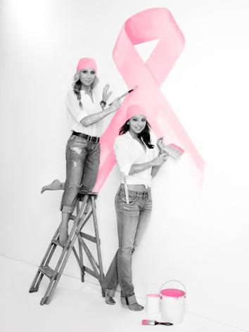 Marta sanchez y hugo castejon contra el cancer de mama