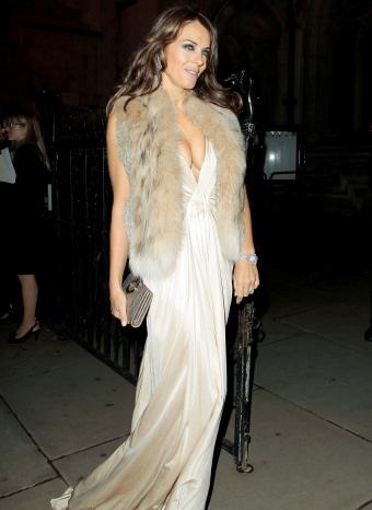 Liv Hurley en una fiesta en Londres